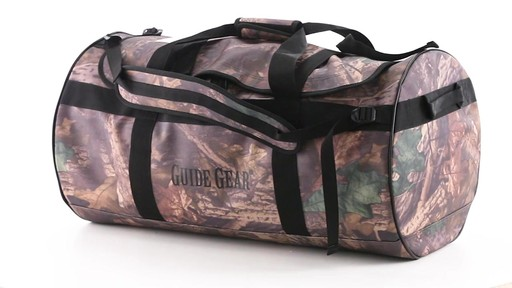 Guide Gear Waterproof Duffel Bag 90 Liters 360 View - image 9 from the video