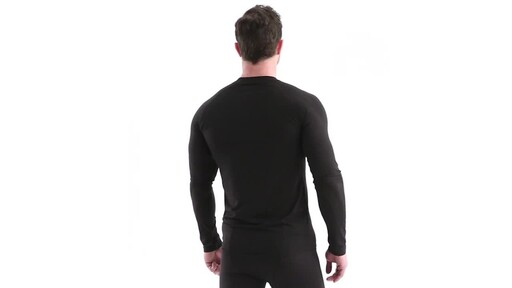 Guide Gear Men's Lightweight Base Layer Crew Top 360 View - image 5 from the video