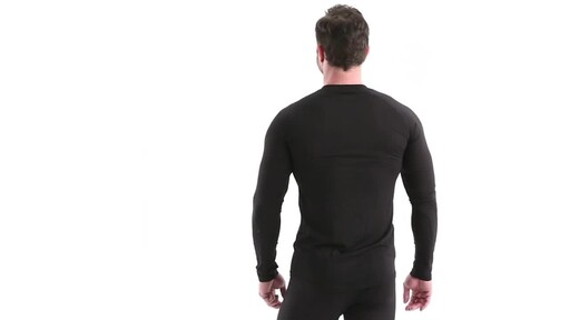 Guide Gear Men's Lightweight Base Layer Crew Top 360 View - image 6 from the video