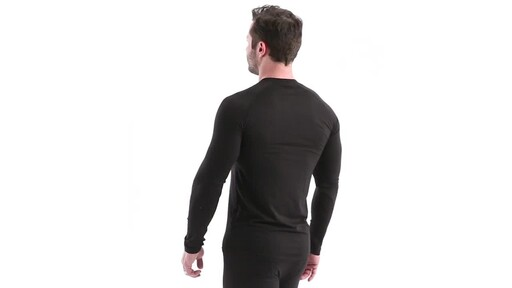 Guide Gear Men's Lightweight Base Layer Crew Top 360 View - image 7 from the video