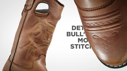 Guide Gear Men's Bandit Conceal and Carry Waterproof Western Boots - image 4 from the video