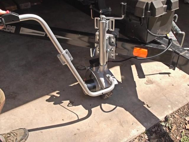 600 Lb 12v Motorized Trailer Jack Sportsman 39 S Guide Video
