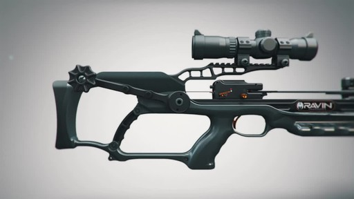 Ravin R20 Crossbow Package Gunmetal Grey - image 5 from the video