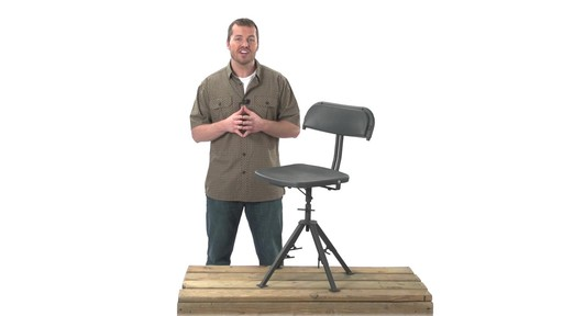 Guide Gear 360 Degree Swivel Blind Hunting Chair 300 lb. Capacity - image 10 from the video