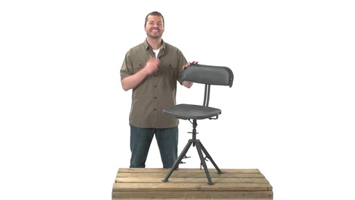 Guide Gear 360 Degree Swivel Blind Hunting Chair 300 lb. Capacity - image 2 from the video