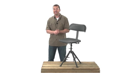 Guide Gear 360 Degree Swivel Blind Hunting Chair 300 lb. Capacity - image 8 from the video