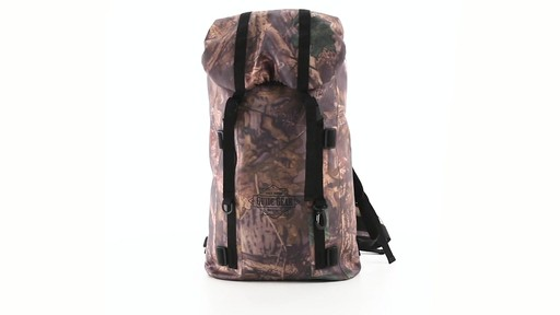 Guide Gear Waterproof Dry Bag Backpack 360 View - image 10 from the video