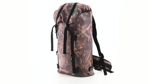 Guide Gear Waterproof Dry Bag Backpack 360 View - image 9 from the video