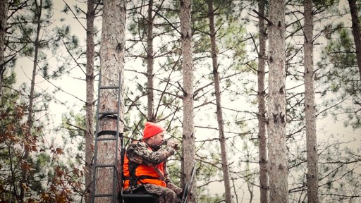 Guide Gear Ultra Comfort Hang-On Tree Stand - image 1 from the video