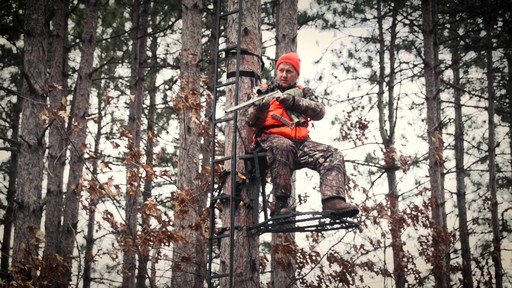Guide Gear Ultra Comfort Hang-On Tree Stand - image 10 from the video