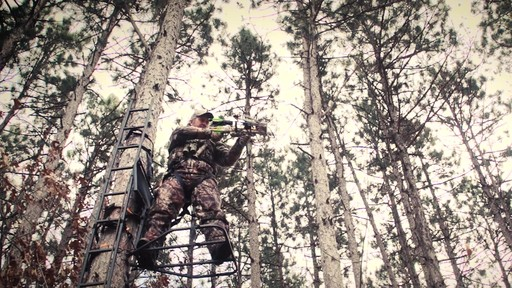 Guide Gear Ultra Comfort Hang-On Tree Stand - image 2 from the video