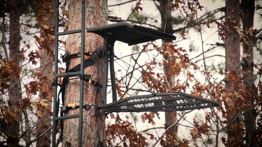 Guide Gear Ultra Comfort Hang-On Tree Stand - image 3 from the video