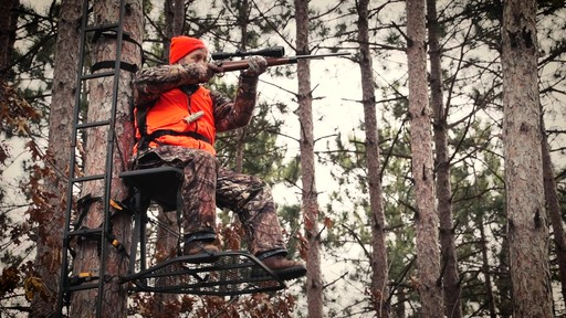 Guide Gear Ultra Comfort Hang-On Tree Stand - image 4 from the video