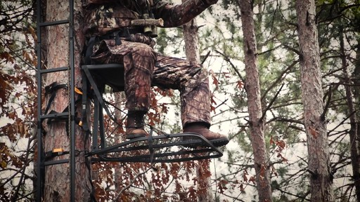 Guide Gear Ultra Comfort Hang-On Tree Stand - image 5 from the video