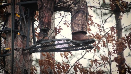 Guide Gear Ultra Comfort Hang-On Tree Stand - image 7 from the video