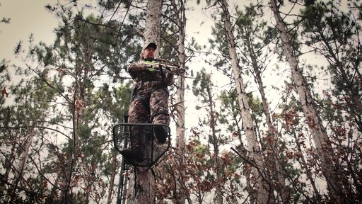 Guide Gear Ultra Comfort Hang-On Tree Stand - image 8 from the video