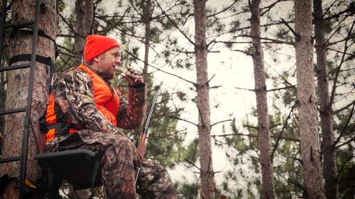 Guide Gear Ultra Comfort Hang-On Tree Stand - image 9 from the video