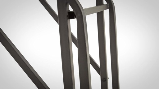 Guide Gear 2 Person 20' Double Rail Ladder Tree Stand With Hunting Blind - image 6 from the video