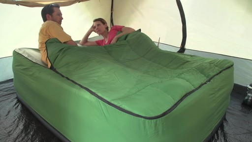 Guide Gear Queen Air Bed Fitted Cover Sleeping Bag Green