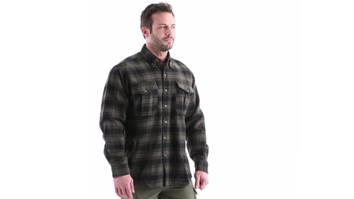 Guide Gear Men's Plaid Chamois Shirt 360 View - image 1 from the video
