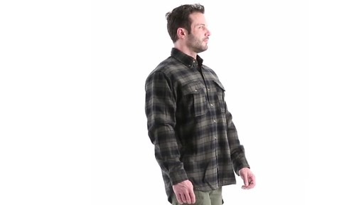 Guide Gear Men's Plaid Chamois Shirt 360 View - image 2 from the video