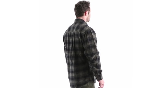 Guide Gear Men's Plaid Chamois Shirt 360 View - image 3 from the video