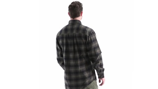 Guide Gear Men's Plaid Chamois Shirt 360 View - image 4 from the video