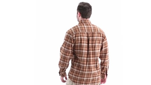 Guide Gear Men's Plaid Chamois Shirt 360 View - image 5 from the video