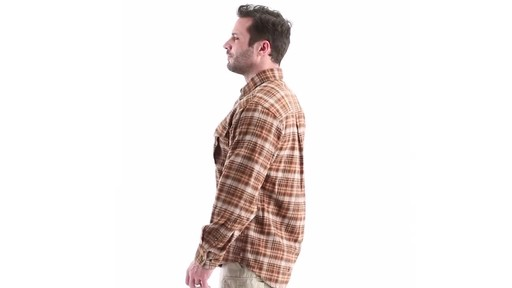 Guide Gear Men's Plaid Chamois Shirt 360 View - image 6 from the video