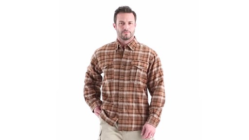 Guide Gear Men's Plaid Chamois Shirt 360 View - image 8 from the video