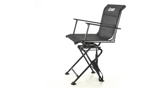 360 BIG BOY COMFORT SWIVEL BLIND CHAIR 360 View - image 1 from the video