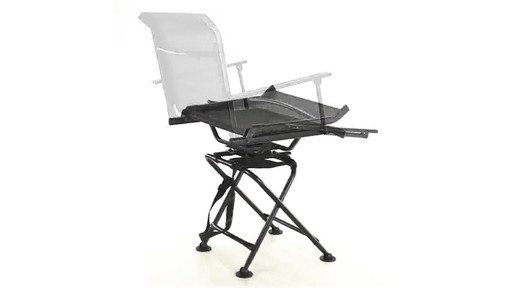 360 BIG BOY COMFORT SWIVEL BLIND CHAIR 360 View - image 6 from the video
