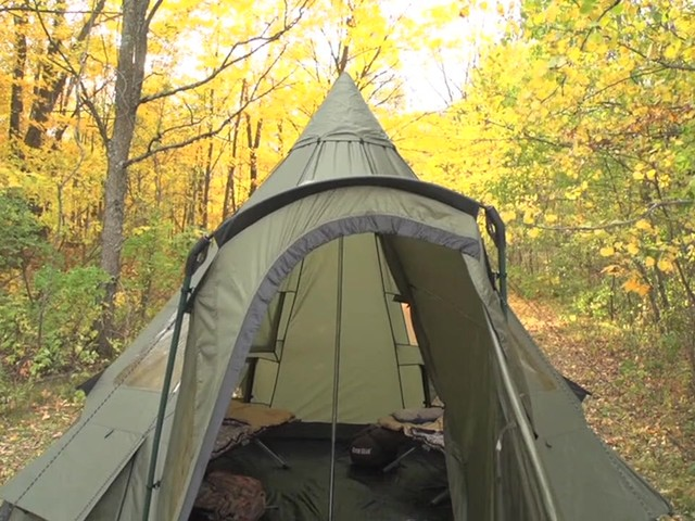 Guide Gear 174 14x14 Deluxe Teepee Tent 187 Sportsman S Guide