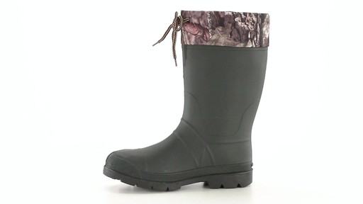 Kamik Men's Sportsman Rubber Boots Waterproof Insulated 360 View - image 5 from the video