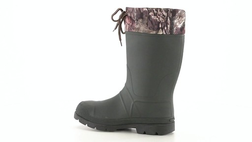 Kamik Men's Sportsman Rubber Boots Waterproof Insulated 360 View - image 6 from the video
