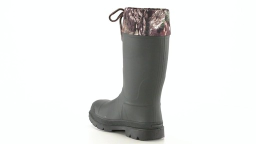 Kamik Men's Sportsman Rubber Boots Waterproof Insulated 360 View - image 7 from the video