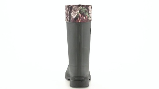 Kamik Men's Sportsman Rubber Boots Waterproof Insulated 360 View - image 8 from the video