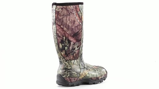 Guide Gear Men's Wood Creek Insulated Rubber Hunting Boots 1000 grams 360 View - image 1 from the video