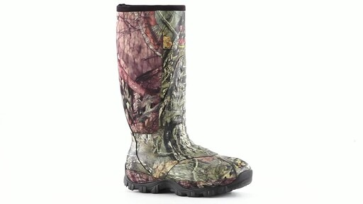 Guide Gear Men's Wood Creek Insulated Rubber Hunting Boots 1000 grams 360 View - image 10 from the video