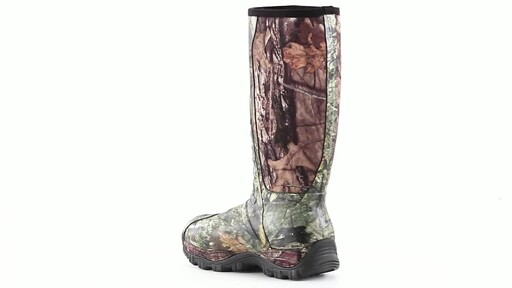 Guide Gear Men's Wood Creek Insulated Rubber Hunting Boots 1000 grams 360 View - image 4 from the video