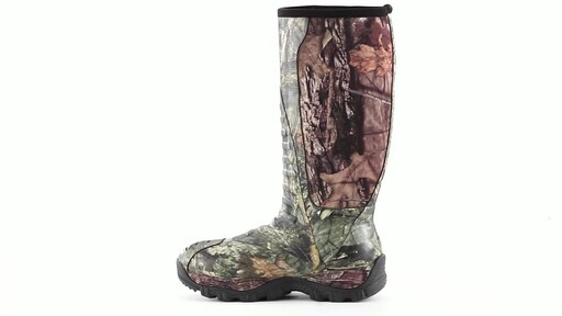 Guide Gear Men's Wood Creek Insulated Rubber Hunting Boots 1000 grams 360 View - image 5 from the video