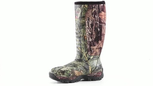 Guide Gear Men's Wood Creek Insulated Rubber Hunting Boots 1000 grams 360 View - image 6 from the video