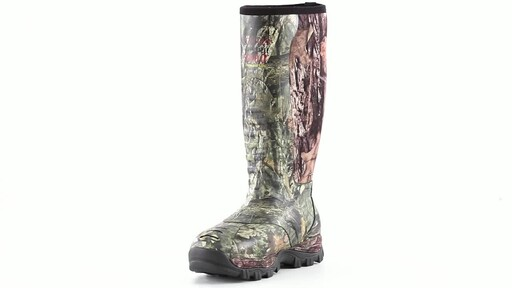 Guide Gear Men's Wood Creek Insulated Rubber Hunting Boots 1000 grams 360 View - image 7 from the video