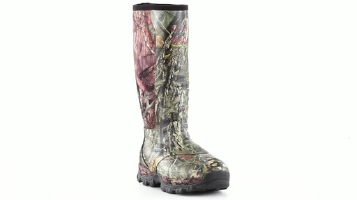 Guide Gear Men's Wood Creek Insulated Rubber Hunting Boots 1000 grams 360 View - image 9 from the video