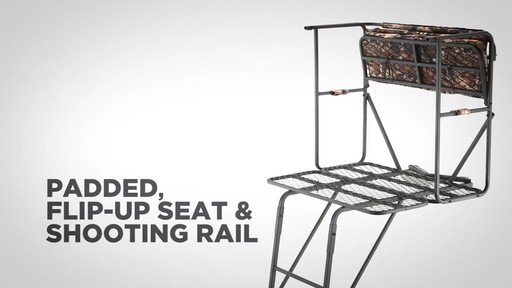 Guide Gear 17.5' Deluxe 2 Man Hunting Ladder Tree Stand - image 5 from the video
