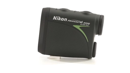 Nikon ARROW ID 3000 Bowhunting Laser Rangefinder 360 View - image 10 from the video