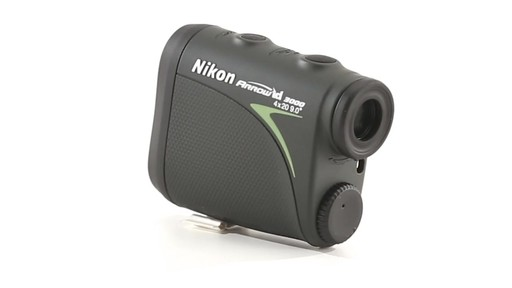 Nikon ARROW ID 3000 Bowhunting Laser Rangefinder 360 View - image 9 from the video