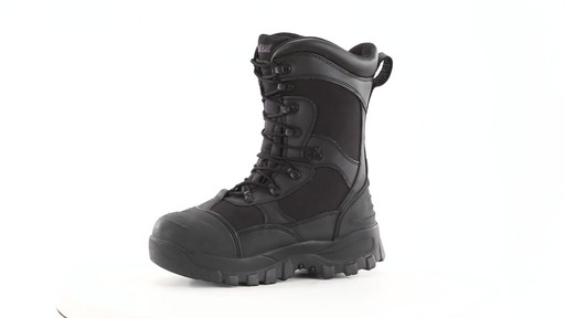 Guide Gear Men's Monolithic Hunting Boots Insulated Waterproof 360 View - image 6 from the video