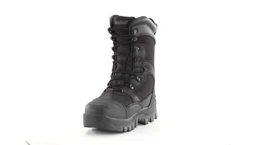 Guide Gear Men's Monolithic Hunting Boots Insulated Waterproof 360 View - image 7 from the video