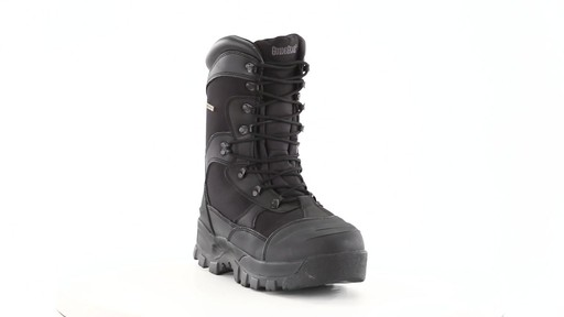 Guide Gear Men's Monolithic Hunting Boots Insulated Waterproof 360 View - image 9 from the video